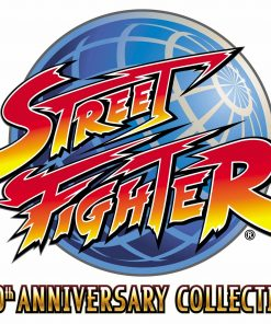Street Fighter 30th Anniversary Collection logo pn 247x296 - Vinilo adhesivo logo street Fighter 30 aniversario