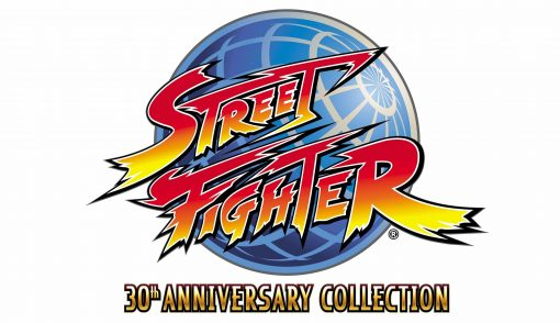 Street Fighter 30th Anniversary Collection logo pn 510x294 - Vinilo adhesivo logo street Fighter 30 aniversario